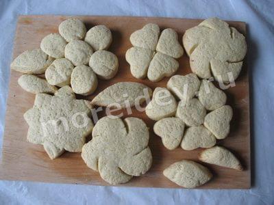 простой рецепт домашнего печенья