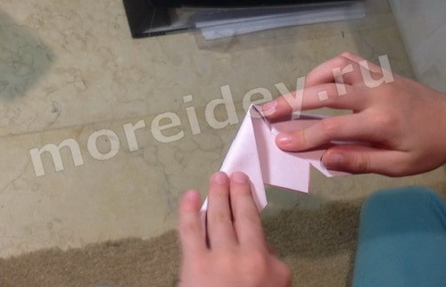 Оригами для начинающих и детей простая модель