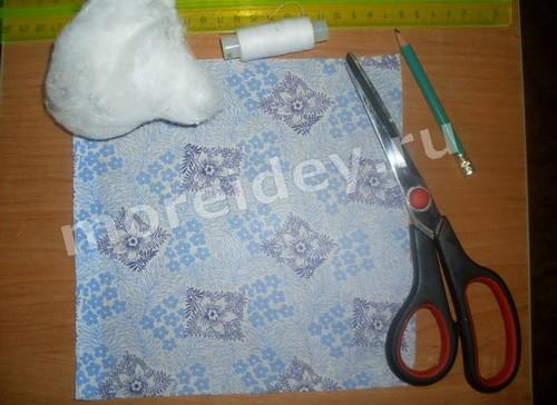 поделка птичка из ткани мастер класс с пошаговыми фото