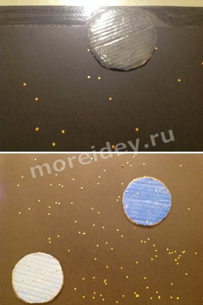 плакат планеты солнечной системы своими руками