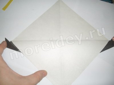 как сделать грача оригами
