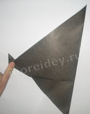 оригами грачи прилетели