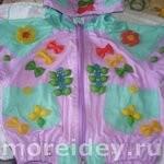 Украшения для одежды из макарон