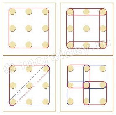 фигуры и схемы для геометрического планшета геометрика