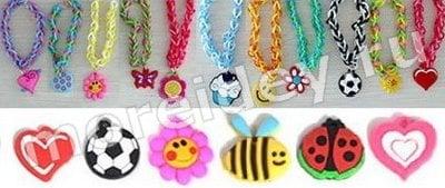 подвески для браслетов и плетения из резиночек
