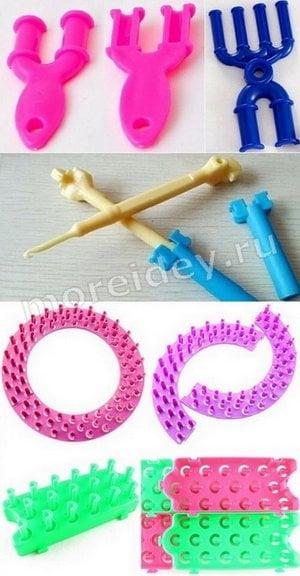 станки для браслетов и плетения из резиночек