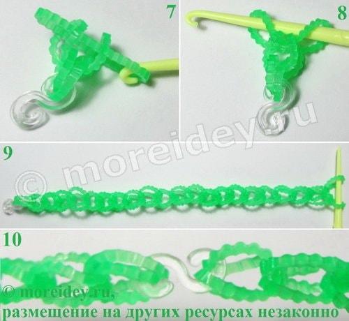браслеты резиночками без станка