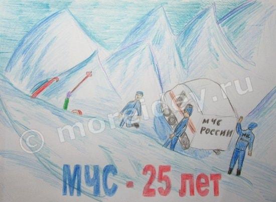 Рисунки на тему МЧС