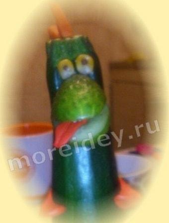 осенние поделки своими руками из овощей фото