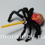 Сладости на Хэллоуин: композиции из конфет
