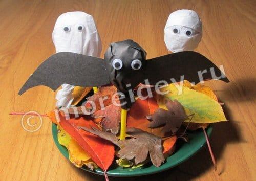 Сладости на детский Хэллоуин своими руками из чупа чупсов