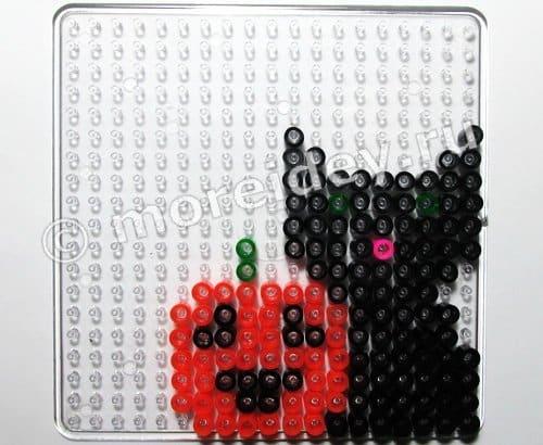 термомозаика картинки схемы на Хэллоуин