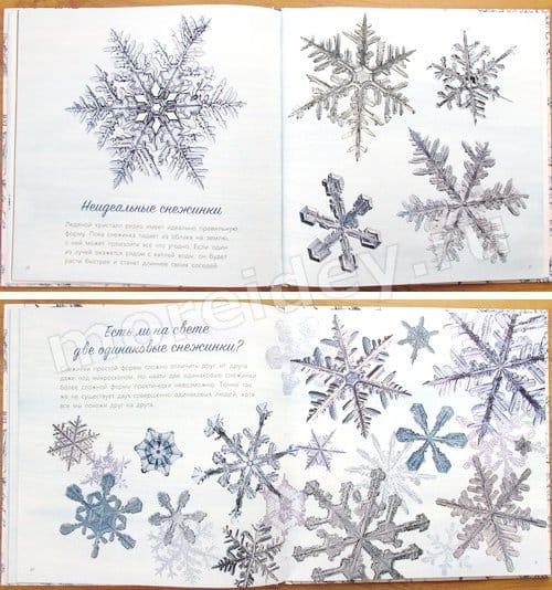 книга про снежинки