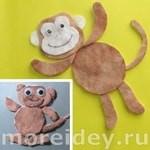 поделка обезьянка своими руками