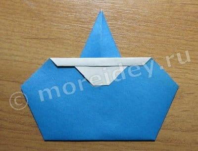 оригами снегурочка