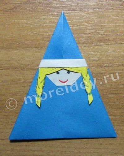 оригами новогодние игрушки