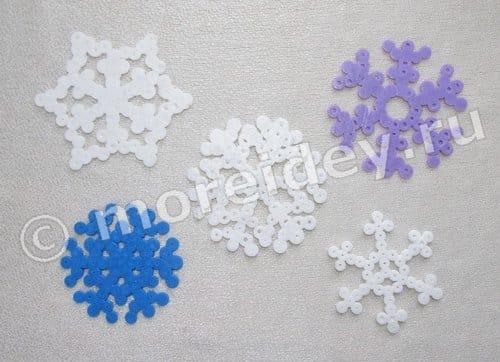 термомозаика снежинки