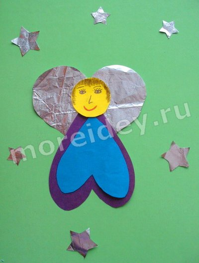 поделки из сердечек для детей