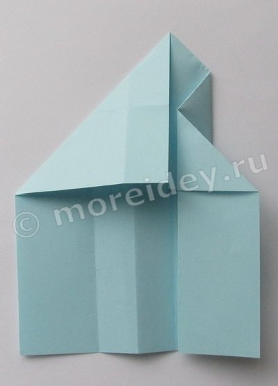 ракета из бумаги своими руками оригами