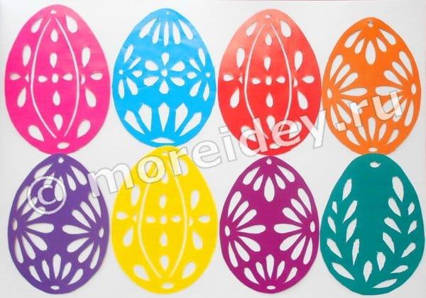ажурные яйца на пасху