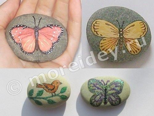 рисунки на камне для начинающих