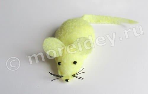 Поделка мышка