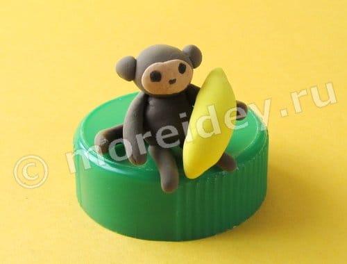 лепим обезьяну