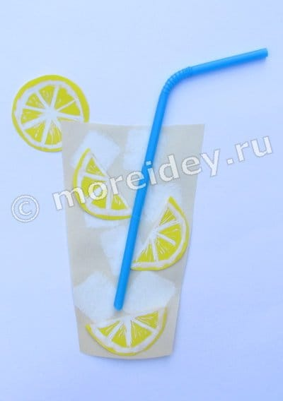 Поделка лимонад