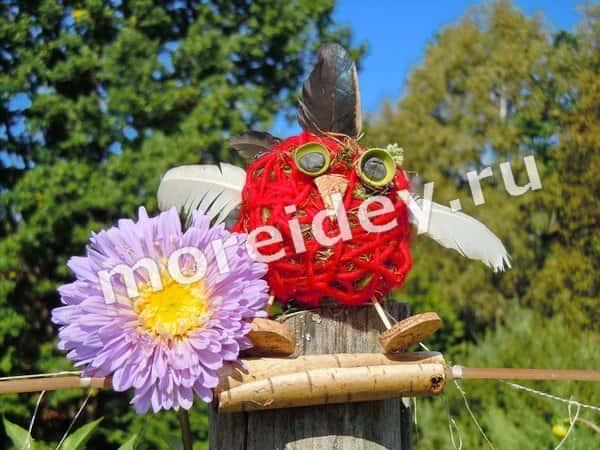 Птичка - саше