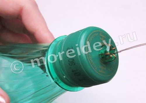 Фонарики из бутылок