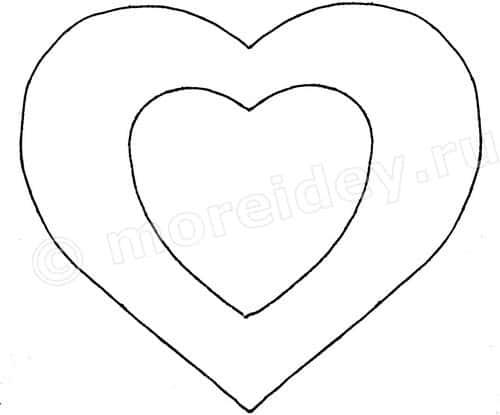 Сердце из ниток