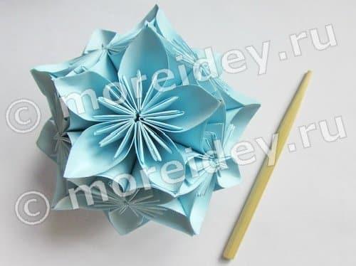 шары кусудама из бумаги схемы