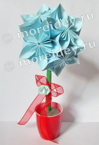 топиарий оригами