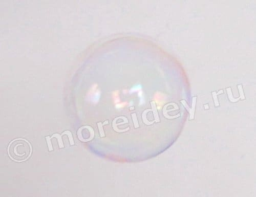 Мыльный пузырь фото